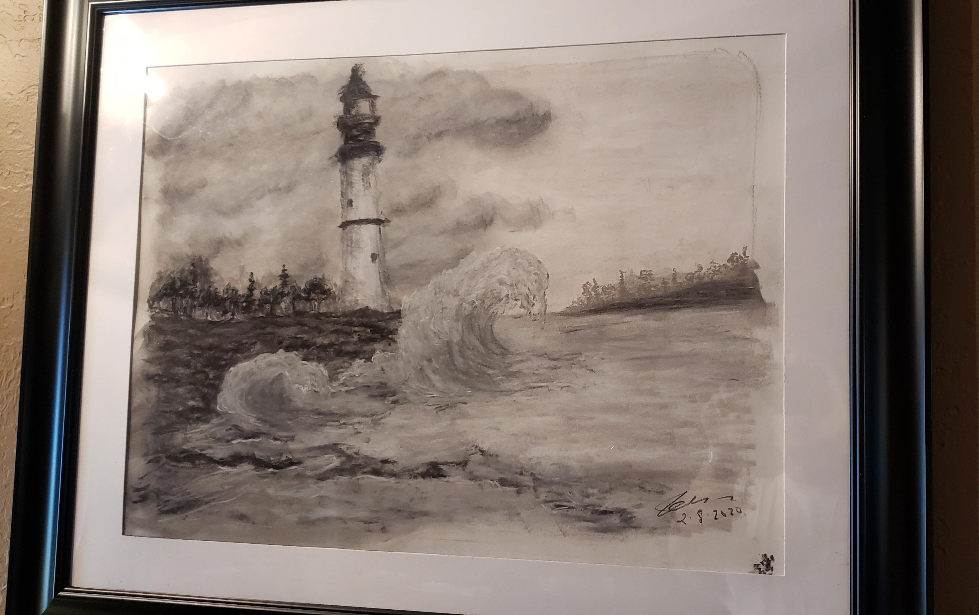 Lighthouse charcoal